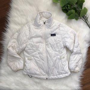 Patagonia | Children's White Down Puffer Jacket